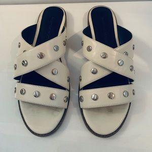 Rebecca Minkoff Susie Studded Slide Sandals